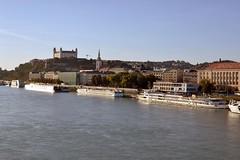 2018-10-05: River Docking (psyxjaw) Tags: bratislava slovakia central europe trip holiday friday october sun autumn