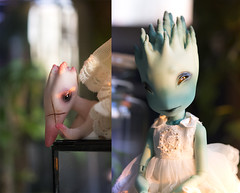 Creatures at Twilight (koalakrashdolls) Tags: bjd doll koalakrash creaturesdolls balljointeddoll ball jointed absinthe fantastic cute toy