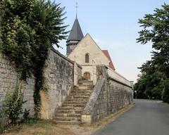 Giverny Church (Église Sainte-Radegonde de Giverny) (dckellyphoto) Tags: giverny france 2013 normandy church sainteradegonde stairs old givernychurch rueclaudemonet radegund