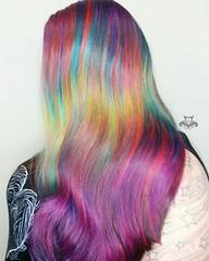 Rainbow Mermaid Shine Line Color Melt (HAIR RAIZERS SALON) Tags: bradentonhairsalon bradentonhairstylist joicointensities rainbowhair sarasotahairsalon