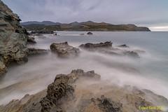 Punta de Goles. (Ernest Bech) Tags: catalunya girona costabrava altempordà mar sea landscape llargaexposició llums lights seascape