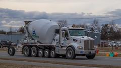 Peterbilt 567 (NoVa Truck & Transport Photos) Tags: peterbilt 567 aggregate industries greenbelt md cement mixer concrete truck vocational big rig