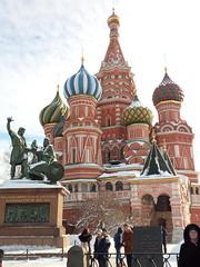 Saint Basil's Cathedral (CarolinaNeves*) Tags: russia moscow snow palace basils cathedral history kremlin