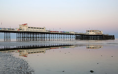 2018_05_06_0209 (EJ Bergin) Tags: sussex westsussex landscape worthing sunset beach sea seaside worthingpier seafront reflection