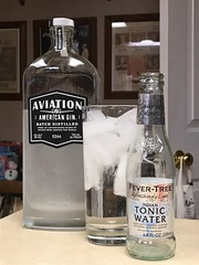 2019 034/365! Gin and Tonic (_BuBBy_) Tags: alcohol spirit american quinine indian tree fever cocktail drink beverage aviation tonic gin days 034365 365 034 2019