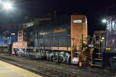 PN 7010 (Dan A. Davis) Tags: newhopeivyland pennsylvanianortheastern pn nhi gp30 c398 gp9rm w230 railroad locomotive train freighttrain pa pennsylvania lansdale