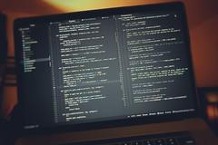coding [Day 3706] (brianjmatis) Tags: laptop macbookpro macbook mac computer code coding programming python photoaday project365 technology apple atom