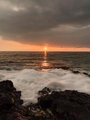 """Rush"" Big Island, Hawaii (cristiancoser) Tags: seascape water ocean travel hawaii flickr nikon flickrtoday explore stunning breathtaking amazing travelphotography impressive light golden clouds"