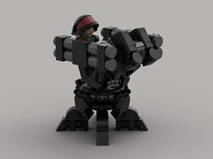 Shade Defense Turret (Homing-Launchers) (demitriusgaouette9991) Tags: lego ldd military army powerful defense turret gunner armored