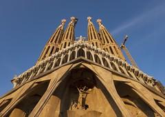 Passion Facade (Douguerreotype) Tags: cathedral arch church barcelona sagradafamilia buildings city urban gaudi spain catalunya architecture