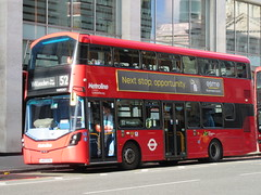 Metroline VWH2421 (Teek the bus enthusiast) Tags: victoria putney bridge route 36 507 london buses go ahead abellio metroline tower transit national express
