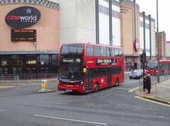SLN 12368 - YX16OGG - BEXLEYHEATH BROADWAY - WED 26TH DEC 2018 (Bexleybus) Tags: stagecoach london mmc 12368 yx16ogg hybrid adl dennis enviro 400 tfl route bexleyheath broadway shopping centre cinema kent 96