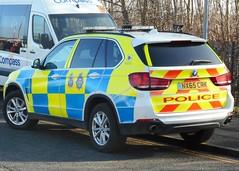 Cleveland Police & Durham Constabulary (NX65 CRK) (ferryjammy) Tags: police durham cleveland arv nx65crk