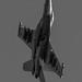 EA-18G BREAKING INTO THE FCLP PATTERN IN MONOCHROME