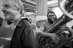 Lagniappe (of Cincinnati) @ Bockfest 2019 (Ed Gloria) Tags: cincy beer heritage brewery band livemusic cajun german festival tuba brass washboard