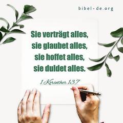 1 Korinther 13,7 (bibel online) Tags: heiligergeist glauben retter daslamm gottliebt mich gnade biblestudy songsofpraise anbetung zeugnis weisheit anmut bibel evangelium predigen herr christus gott jesus