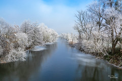 Winter (Uwe Weigel) Tags: winter landscape landscapephotography fluss river eis schnee kalt nicepic germany europe tree sky skylover baum landschaft ice snow himmel clouds wolken pic