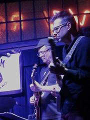 Will Bernard and John Schott (michaelz1) Tags: livemusic ivyroom albany damnskippy johnschott willbernard