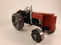 Old Tractor (CooperR53) Tags: oldtractor tractor lego