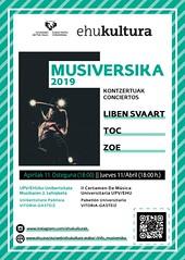 MUSIVERSIKA (EHUkultura) Tags: ehukultura ehu upvehu música musika universidad unibertsitatea