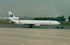 OO-CTC (IndiaEcho) Tags: ooctc sabena citybird mcd douglas md11 brussels ebbr bru civil aircraft aeroplane aviation airport airfield