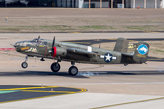 "North American B-25N Mitchell ""Tondelayo"" (zfwaviation) Tags: kdal dal dallaslovefield airport texas aircraft airplane plane aviation nl3476g n3476g b25 mitchell bomber wwii collings foundation tondelayo"
