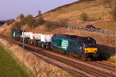 Spring Clyde Valley flasks (stevenjcrozier) Tags: 68017 6m50 68005 drs flasks wandal wcml torness kingmoor