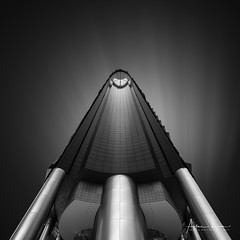 Centennial Tower (Alec Lux) Tags: bw bnw singapore architecture art black blackandwhite building buildings centennial design exterior facade fine fineart haida haidafilters longexposure minimal minimalism modern office outdoor outside skyline skyscraper tower urban white
