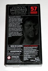 star wars the black series #57 dj canto bight 6 inch figure red packaging the last jedi basic action figures 2017 hasbro misb 1b (tjparkside) Tags: dj canto bight star wars black series 6 inch figure red 57 packaging last jedi basic action figures 2018 2017 hasbro blaster pistol weapon weapons finn rose imperial rebel casino codebreaker codebreaking skills misb