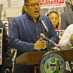 Carlos Rosa 35th Ward Alderman City of Chicago Aldermanic Candidates Press Conference to Support Civilian Police Accountability Council Chicago Illinois 1-9-19 5582 thumbnail