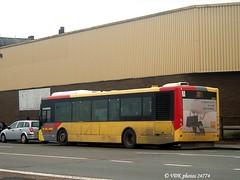 3854-24774§0 (VDKphotos) Tags: vdl citea clf120 daf autobus belgium wallonie lalouvière otw