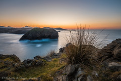 Desde Borizo. (Roberto_48) Tags: llanes asturias borizo atardecer landscape paisaje cantabrico panasonic g9 mar oceano larga exposición