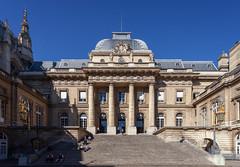 Palais de Justice (Jack Landau) Tags: paris france architecture building city urban europe eu blue sky history heritage old canon 5d jack landau