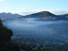 Beautiful, peaceful morning. (Ia Löfquist) Tags: crete kreta hike hiking vandra vandring walk walking wanderen winter vinter mist dimma morning morgon