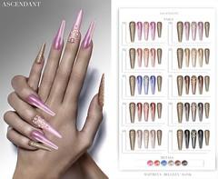 Vanity | April 5th (Kah Melody | ASCENDANT) Tags: ascendant nails bento maitreya slink belleza vanity artnails