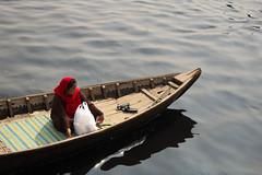 River Fort Dhaka (omijara) Tags: boat water dhaka women sunnyday boatman olddhaka photography bangladesh riverport