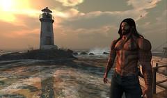 father's house of Aquaman (gazegrey) Tags: secondlife sl rol aquaman