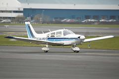 G-BVNS (Rob390029) Tags: cherokee archer gbvns scottish airways flyers piper pa28 glasgow prestwick airport pik egpk