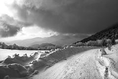 L'arrivée de la neige (mrieffly) Tags: alsace hautesvosges hautrhin colduhaag neige nuages canoneos50d rando