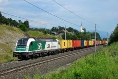 183 717, G 96106, Mühldorf-Möllbrücke (M. Kolenig) Tags: 183 steiermarkbahn tauernbahn kirche baum wald wolken
