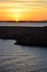 The Sun Rising on Lake Nasser (pjpink) Tags: sun sunrise morning lakenasser lake desert nubia golden abusimbel egypt january 2019 winter pjpink 2catswithcameras