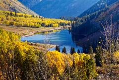 Maroon Lake (valentina425) Tags: autumn colorado fall lake maroon bells mountains ngc aspen