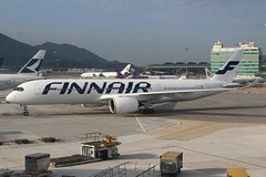 Finnair (So Cal Metro) Tags: airline airliner airplane aircraft plane jet aviation airport hongkong hkg ohlwe finnair airbus a350