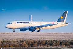 [CDG.2010] #Nouvelair.Tunisie #BJ #Airbus #A320 #TS-INO #awp (CHRISTELER / AeroWorldpictures Team) Tags: nouvelairtunisie bj lbt northafrican airlines arab plane aircraft airplane airbus a320 cn3480 cfmi fwwdk y180 tsino spotter christeler spotting aerowolrdpictures avgeek awp team chr aviation paris cdg lfpg france nikon d80 nikkor 70300vr lightroom twr atc landing reverse