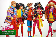 1990 Benetton Barbie (Barbie Collectors Guide '90s) Tags: 1990 benetton barbie christie teresa ken kira marina
