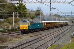 47614 ~ 5Z77 (thehstmatt1) Tags: class47 47853 47614 br blue locoservices statesman 5z77 eastleigh crewe wcml miltonkeynes