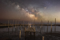Great Bay Blvd. (Mike Ver Sprill - Milky Way Mike) Tags: new jersey great bay blvd little egg harbor nj milky way galaxy landscape nightscape night sky dark skies long exposure low tide astrophotography astronomy