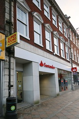 Warrington, Santander (Clanger's England) Tags: cheshire england warrington wwwenglishtownsnet bank