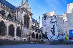 Chut ( Philippe L PhotoGraphy ) Tags: beaubourg leshalles idf architecture contrasteélevé france paris mariedeparis monuments