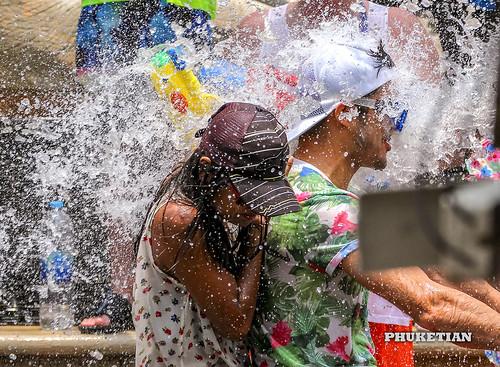 Songkran, Thailand New Year at Phuket island